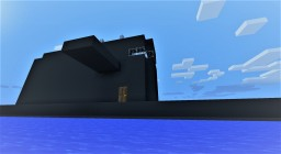 USS Defender, largest submarine ever! full interior and download Minecraft Map & Project
