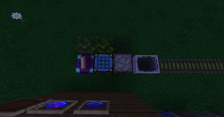 LeavesEnchantmentand Crafting  Bench