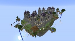 Floating Castle Skyblock Spawn - 1.10.2 Minecraft Project