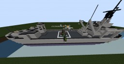 USS Washtenaw County Museum Ship Minecraft Map & Project