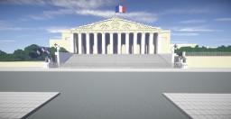 Palais Bourbon (French Parliament) Minecraft Project