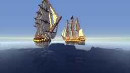 Frigate Battle(Not PvP) Minecraft Project