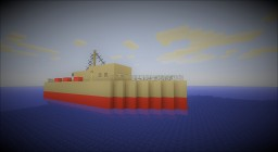 HMS Washington, torpedo boat, full interior and download Minecraft Project