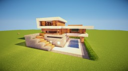 SM-Modern-House-19 Minecraft Project