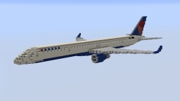F'n'A Gaming Boeing 757-300 Delta Air Lines Minecraft