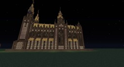 Golden Medieval Church Minecraft Map & Project