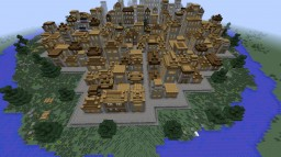 City of Brick, Wood and Stone. Minecraft Map & Project