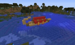 Canoe ship Minecraft Map & Project