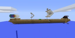 long pirate ship Minecraft Map & Project
