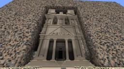 Petra, Jordan Treasury Minecraft