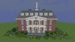 The Walking Dead Hilltop Mansion Minecraft Map & Project