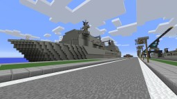 RFA Fort Victoria Minecraft Map & Project