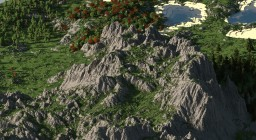 Fantasy map - RPG mountains Minecraft