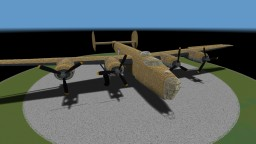 40:1 B-24D Liberator Minecraft Map & Project