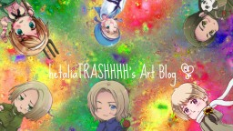 Hetalia's Art Blog! ~ Minecraft Blog Post