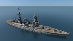 Nagato-class battleship「長門」 Minecraft Map & Project