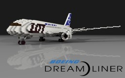Boeing 787 Dreamliner | PLL LOT airlines | Scale: 1,5:1 Minecraft Project