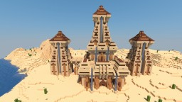 Desert Temple Transformation Minecraft Project