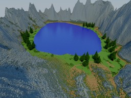 Lake / need to finish Minecraft Map & Project