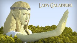 Lady Galadriel of Lothlorien Minecraft Project