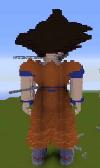 Goku - Behind View