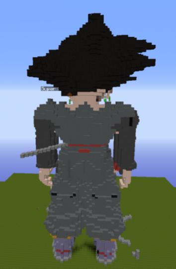 Goku Black - Behind View