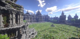 Castle Of The Moon [Gothic Palace] Minecraft Project
