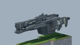 Minecraft Halo Project - Charon Class Frigate (Halo 3 - Full scale) Minecraft Project