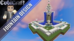 Fountain + schematic Minecraft