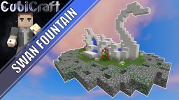 Swan Statue Fountain + Schematic Minecraft