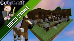 Horse Stables + Schematic Minecraft Project