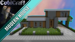 Modern House  + Schematic Minecraft Project