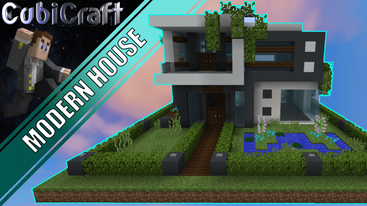 Modern House Schematic Minecraft Project
