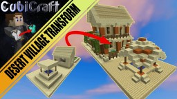 Desert village layout for transformation series 'schematic' Minecraft Project