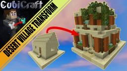 Desert village layout for transformation series 'schematic' Minecraft Project