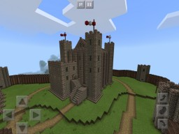 Norman Keep - Minecraft PE Minecraft Project