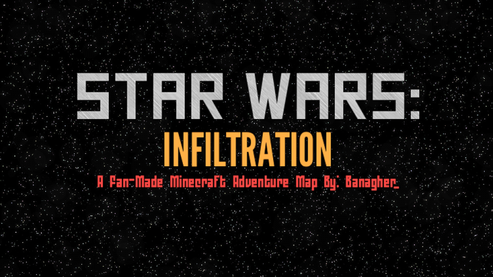 STAR WARS INFILTRATION ADVENTURE MAP For LINK TO PART - Map para minecraft 1 11 2