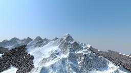 Winter Mountains 3k v2 Minecraft