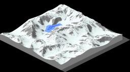 Snowy Mountains Minecraft
