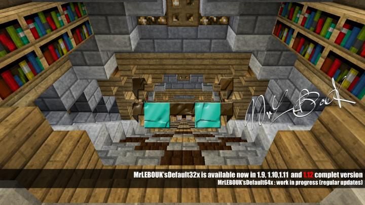 Popular Texture Pack : MrLEBOUK'sDefault 1.12 (32x,64x)
