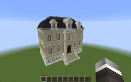 Realistic French Chateau Minecraft Map & Project