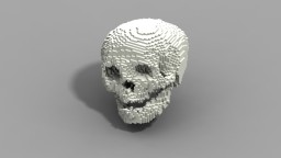 Human Skull Minecraft