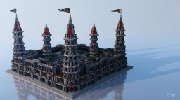 Grimefell ⏐⏐ Medium Medieval Spawn Minecraft Map & Project