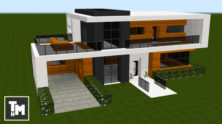 thumbnail 6 1511200987 - View Modern Small Blueprints Minecraft Modern Small Minecraft House Ideas Pics