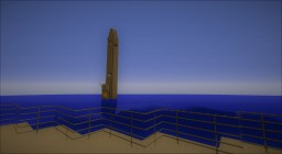 USS Columbus sinking map, download Minecraft Project