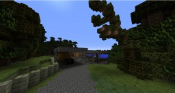 Justice League Wayne residence & The Batcave Minecraft Project