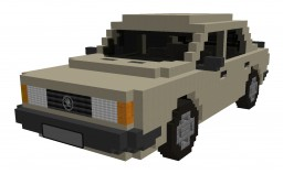 SKODA 120L 1.1 37kW (1978) Minecraft Project