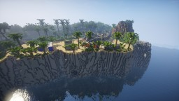 Jurassic World builds for EverythingJP - Owen's Bungalow and the Raptor Paddock Minecraft