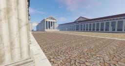 A Roman forum Minecraft Project