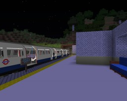 Trans-Biome Railway - A RTM Project Minecraft
